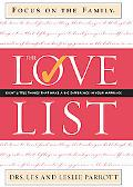 Love List Eight Little Things That Make a Big Difference in Your Marriage
