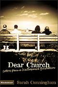 Dear Church Letters from a Disillusioned Generation
