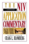 1 Corinthians the Niv Application Commentary