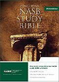Zondervan Nasb Study Bible Burgundy Bonded Leather