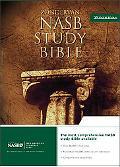 New American Standard Bible Study Bible Update, Burgundy Genuine Leather