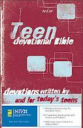 Teen Devotional Bible New International Version
