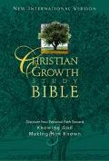 Christian Growth Study Bible : Discover Your Personal Path Toward Knowing God and Making Him...
