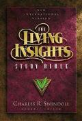 Living Insights Study Bible: New International Version (NIV), burgundy bonded leather