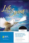 Life in the Spirit Study Bible New International Version, Black Bonded Leather