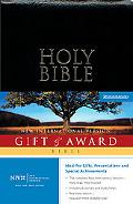 Holy Bible Gift & Award Niv  Teal Leather