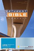 Student Bible New International Version, Premium British Tan Bonded Leather