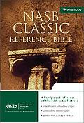 Classic Reference Bible Nasb  Bonded Leather, Burgundy
