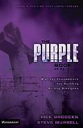 Purple Book Biblical Foundations for Building Strong Disciples