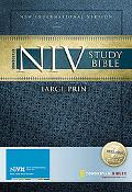 Zondervan NIV Study Bible, Large Print: Updated Edition