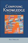 Composing Knowledge Readings for College Writers