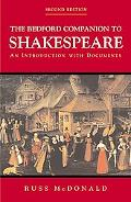 Bedford Companion to Shakespeare An Introduction With Documents