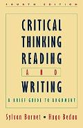 Critical Thinking, Reading and Writing A Brief Guide to Argument