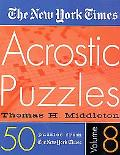 New York Times Acrostic Puzzles
