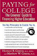 Paying For College The Greenes' Guide To Financing Higher Education