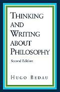 Thinking and Writing About Philosophy