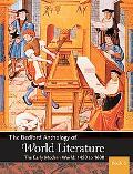 Bedford Anthology of World Literature Book 6 The Twentieth Century, 1900-the Present