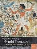 Bedford Anthology of World Literature Pack A (Volumes 1, 2, and 3)