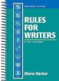 Rules for Writers, 5th Edition