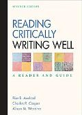 Reading Critically, Writing Well A Reader and Guide
