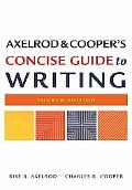 Axelrod & Cooper's Concise Guide to Writing