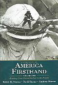America A Concise History 3e V2 & America Firsthand 6e V2 & Up From Slavery