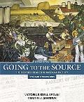 Going to the Source The Bedford Reader in American History Since 1865