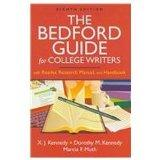 Bedford Guide for College Writers 8e 4-in-1 cloth  & Comment for Bedford Guide for College W...