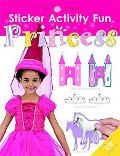 Sticker Activity Fun Princess