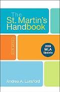 The St. Martin's Handbook 6e with 2009 MLA Update