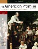 American Promise, Volume I: To 1877 : A History of the United States