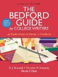 Bedford Guide for College Writers with Reader, Research Manual, and Handbook with 2009 MLA a...