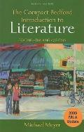 The Compact Bedford Introduction to Literature with 2009 MLA Update: Reading, Thinking, Writing