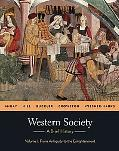 Western Society: A Brief History: Volume 1: from Antiquity to Enlightenment