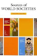 Sources of World Societies: Volume 1: To 1715