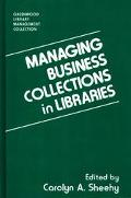 Managing Bus.collections in Libraries