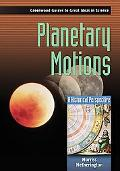 Planetary Motions A Historical Perspective