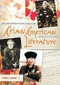 Greenwood Encyclopedia of Asian American Literature