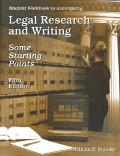 Legal Research and Writing Workbook Study Guide