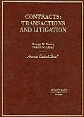 Contracts Transactions And Litigation
