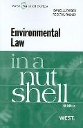 Environmental Law in a Nutshell, 8th (Nutshell Series)