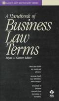 Handbook of Business Law Terms