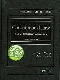 Constitutional Law, A Contemporary Approach