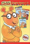 Marc Brown Arthur Chapter Books 1-3 Arthur's Mystery Envelope, Arthur and the Scare-Your-Pan...