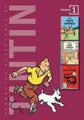 Adventures of Tintin/3 Complete Adventures in 1 Volume Tintin in America/Cigars of the Phara...