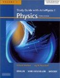 Physics With Modern Physics for Scientists and Engineers Study Guide With Activphysics 1