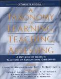 Taxonomy for Learning,