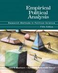 Empirical Political Analysis Research Methods in Political Science