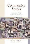 Community Voices Academic, Work, and Public Readings