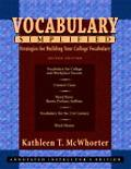 Vocabulary Simplified Strategies For Building Your College Vocabulary